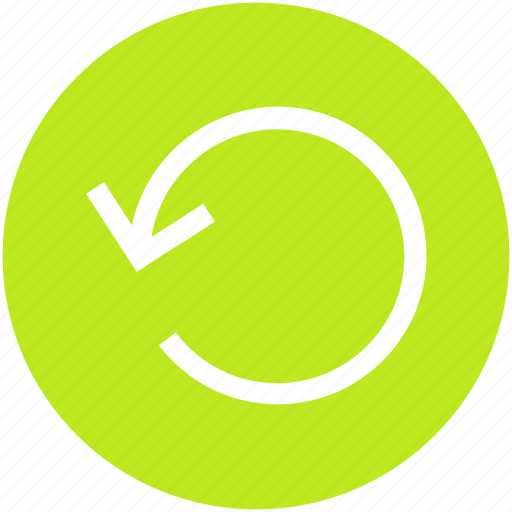 arrow, circle, history, refresh, reload icon