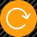 arrow, processing, reload, upload