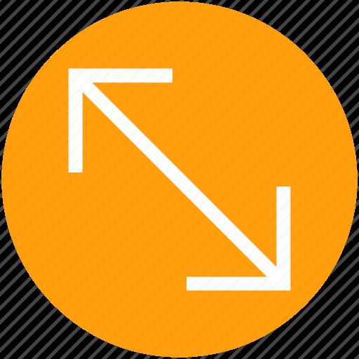 arrow, arrows, direction, double icon
