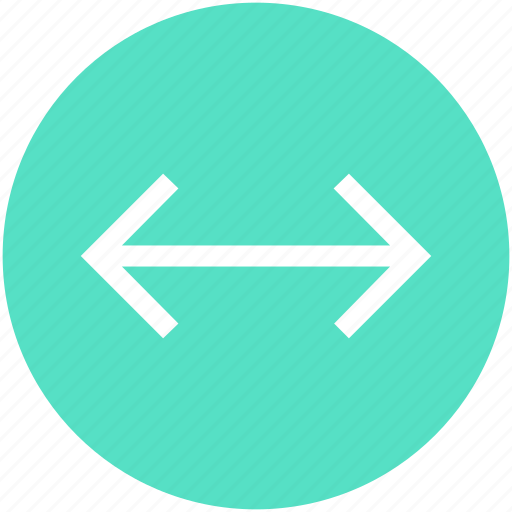 arrow, expand, two head, width icon