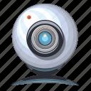 cam, camera, internet, online, web icon
