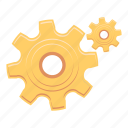 configuration, gears, options, preferences, setting, settings icon