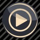play, camera, multimedia, music, player, sound, video