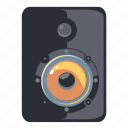 speaker, music, mute, sound, volume