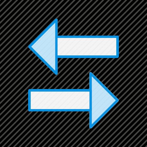 arrow, direction, share icon