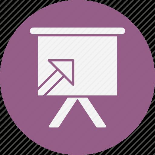analytics, diagram, presentation icon