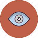 eye, find, view, zoom icon