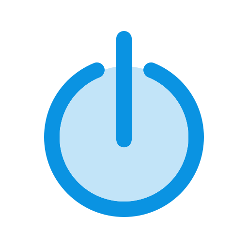power off, shutdown, standby icon