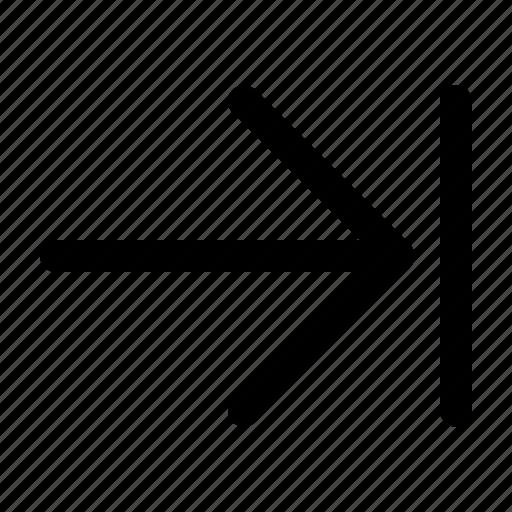 arrow, login, next, right icon