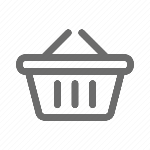 bold, general, shopping, sign, stroke, universal icon