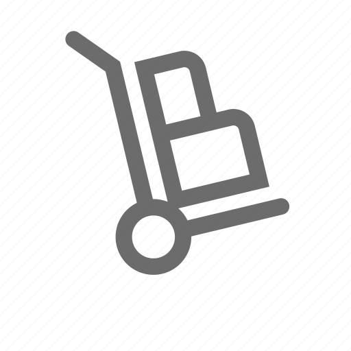 bold, cart, general, sign, stroke, universal icon