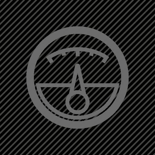 Bold, gauge, general, sign, stroke, universal icon - Download on Iconfinder