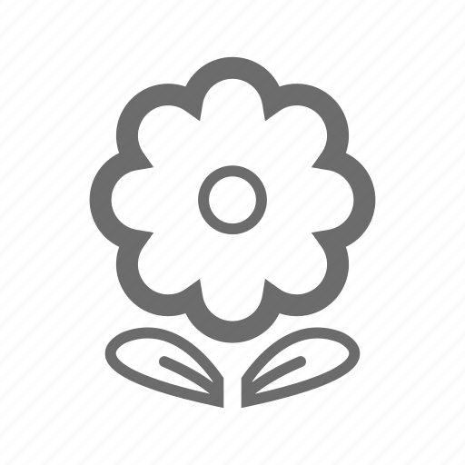 bold, flower, general, sign, stroke, universal icon