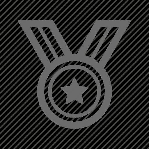 award, bold, general, sign, stroke, universal icon