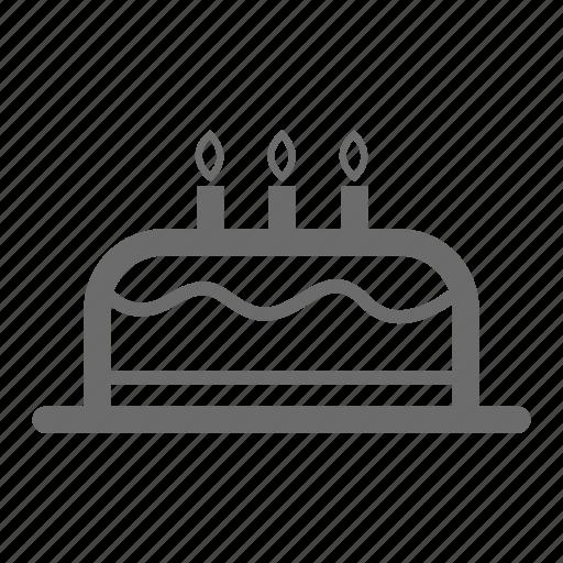 birthday, bold, general, sign, stroke, universal icon