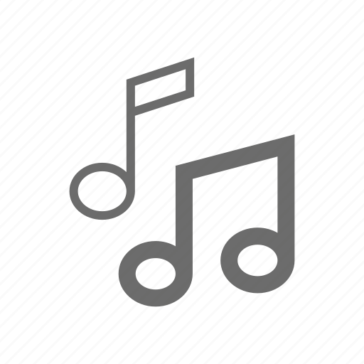 bold, general, music, sign, stroke, universal icon