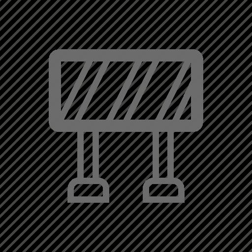 bold, general, sign, stroke, traffic, universal icon