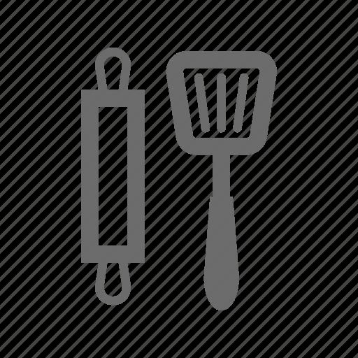 bold, general, kitchen, sign, stroke, universal icon