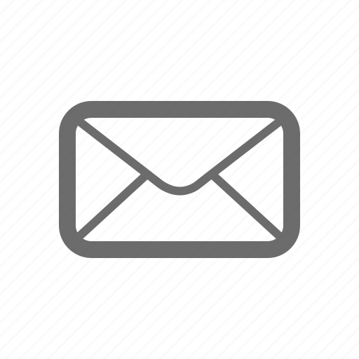 Bold, general, mail, sign, stroke, universal icon - Download on Iconfinder