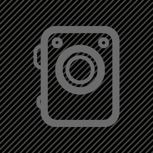 bold, camera, general, sign, stroke, universal icon