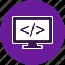 code, development, marketing, programming icon