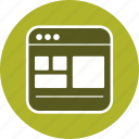 design, page, template, web icon