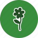 floral, flower, plant icon