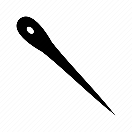 needle, sewing, thread icon