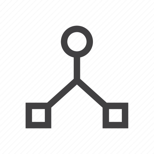 connection, hub, network icon