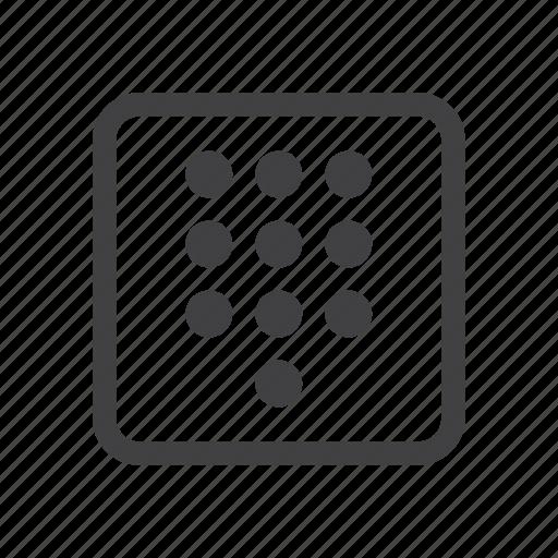 dial, dialpad, pad icon