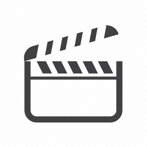 board, cinema, clap, clapperboard icon