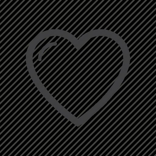 favorite, heart, love icon