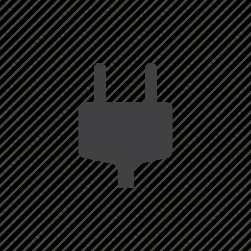 ac, plug, power icon