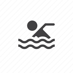pool, swimming, water icon