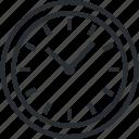 clock, dead line, line, organization, schedule, thin, time icon