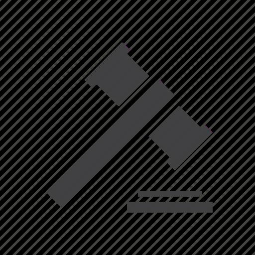 Auction, gavel, hammer, judge icon - Download on Iconfinder