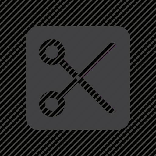 cut, scissors, split icon