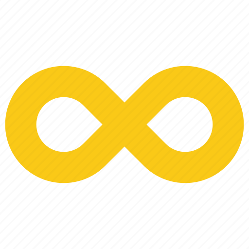 endless, infinite, infinity, loop, repeat icon