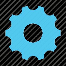 cogwheel, development, engine, gear, mechanics, options, settings icon