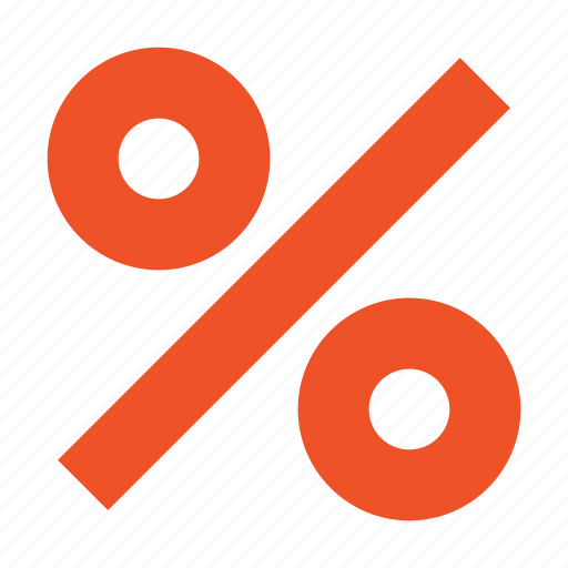 finance, income, investment, percent icon