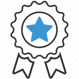 achievement, badge, label, reward, ribbon, win, winner icon