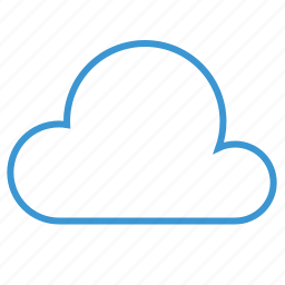 cloud, cloudy, data, download, server, storage, weather icon