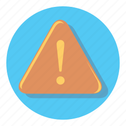 alert, attention, notification, warning icon