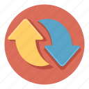 arrow, arrows, direction, refresh, reload icon