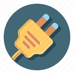 charge, electric, electricity, energy, plug, power icon