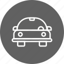 automobile, car, cartoon car icon