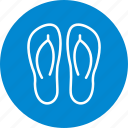 footwear, slipper, slippers icon