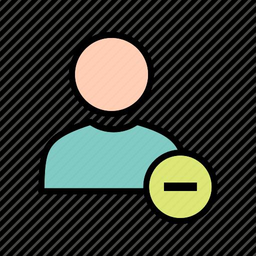 block, profile, user icon