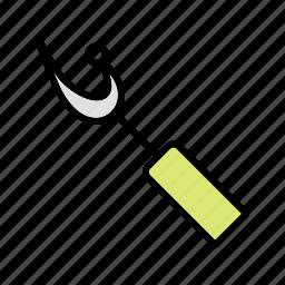 ripper, seam, sewing icon