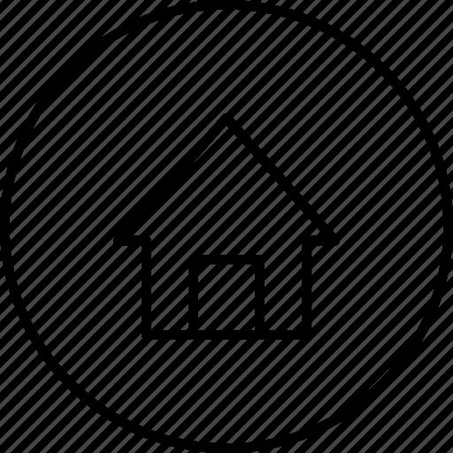 building, desktop, home, house, menu, navigate icon